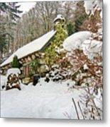 Welsh Cottage Metal Print