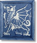 Welsh Dragon Panel Metal Print