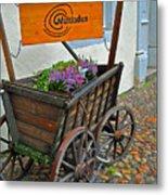 Weltladen Cart Metal Print