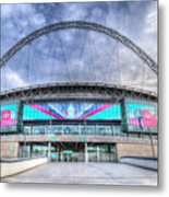 Wembley Stadium Wembley Way Metal Print