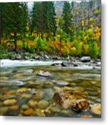 Wenatchee River Metal Print by Dan Mihai
