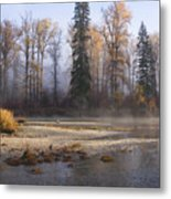 Wenatchee River, Fall 2015 Metal Print