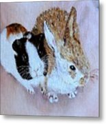 Wendy And Bobby  Metal Print