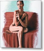 Wenona  Exposed Metal Print