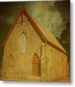 Wesley Church, Greenough, Western Australia Metal Print