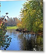 West Branch Iowa River Metal Print