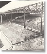 West Bromwich Albion - The Hawthorns - Brummie Road End 1 - Bw - 1960s Metal Print