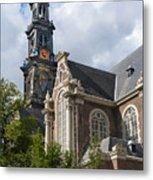 West Church Westerkerk Metal Print