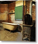 West End Basement Brewing Metal Print