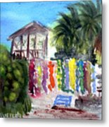 West End Market Metal Print