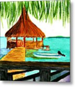 West End Roatan Metal Print