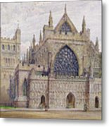 West Front, Exeter Cathedral Metal Print