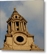 West Front Of St. Paul's Cathedral, London Metal Print