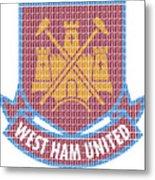 West Ham Metal Print