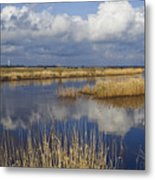 West Jutland - The Flat Country Metal Print
