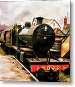 West Somerset Railways Train. Metal Print