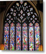 West Stained Glass Window Christ Church Cathedral 1 Metal Print