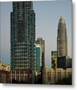West Trade Street Downtown Charlotte North Carolina Metal Print