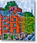 West Village By The High Line Metal Print