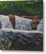 West Virgina Water Falls Metal Print