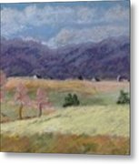 West Virginia Landscape             Metal Print