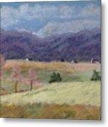 West Virginia Landscape             Metal Print