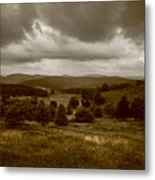 West Virginia Overcast Metal Print