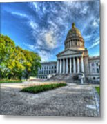 West Virginia State Capitol Building No. 2 Metal Print