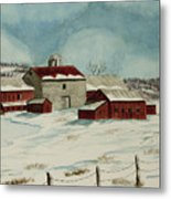 West Winfield Farm Metal Print