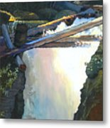West Yaak Falls Metal Print