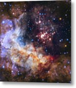 Westerlund 2 - Hubble 25th Anniversary Image Metal Print