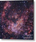 Westerlund 2 Star Cluster In Carina Metal Print