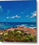 Western Australia Beach Panorama Metal Print