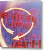 Western Auto Dream Metal Print