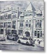 Western Avenue In Muskegon, Michigan Metal Print