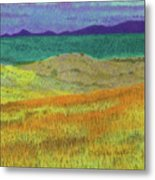 Western Edge Prairie Dream Metal Print
