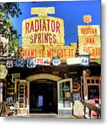 Western Junk Shop California Adventure  Metal Print
