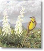 Western Meadowlark Metal Print