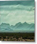 Western Mountains Metal Print