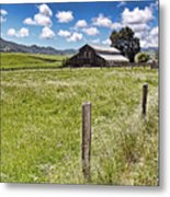 Western Ranch Metal Print