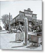 Western Saloon Metal Print