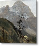 Western Trail Metal Print