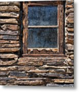 Western Window Metal Print