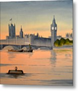 Westminster And Big Ben  Metal Print