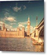 Westminster Big Ben Metal Print
