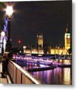 Westminster Embrace Metal Print