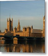 Westminster Morning Metal Print