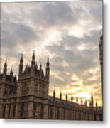 Westminster Palace Metal Print