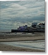 Weston - Super -mare  -  Outflow - Hdr Metal Print