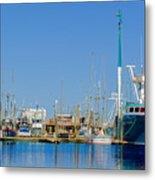 Westport Docks Color Metal Print